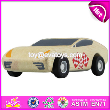 New Items Wooden Toy Cars For Toddlers