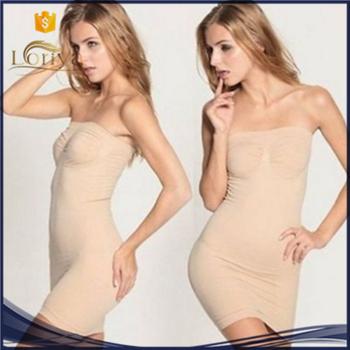 7681da146a7e8 2016 Sexy Night Wear Slimming Belly Corset Dress Slim Sexy Lipodress Women