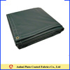 Different Thickness PVC Vinyl Fire Retardant Tarps Size Customized