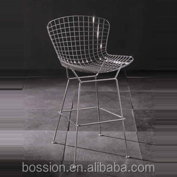 Triumph Diamond Accent chair/ wire bar chairs/minimalist modern tall bar stool bar chair
