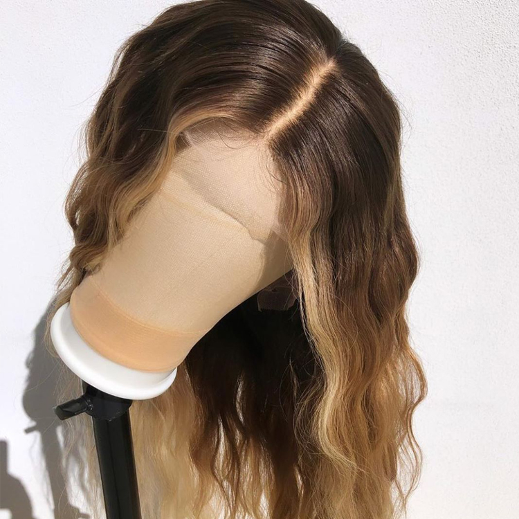 Ombre 3 Tone 4 30 Blonde Human Hair Full Lace Wig Wholesale Human Hair Ombre Wigs фото