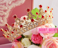 red hair accessories princess children's tiaras and crowns cheap