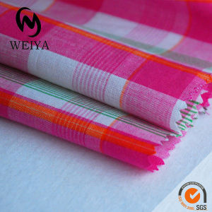 100% Cotton Yarn Dyed Plaid Fabric For Shirt