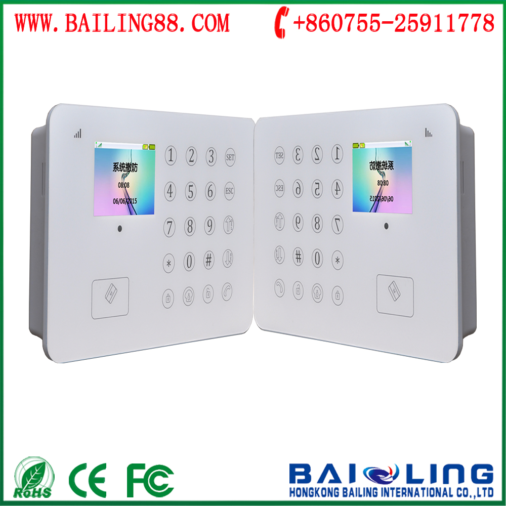 App control GSM home guard system & home burglar security alarm system