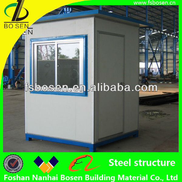 Mobile prefabricated modular public security sentry box