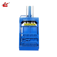 Soft materials baler machine garbage compressor machine