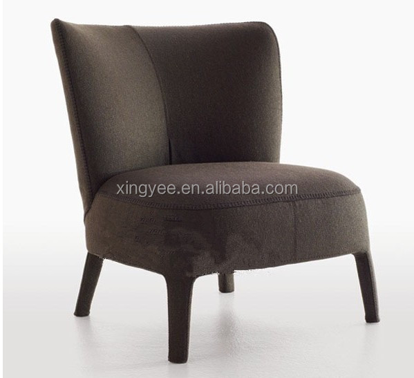 Modern living room design furniture hotel cafe lounge chair fabric ...