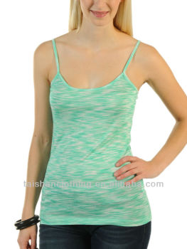 Top fashion summer green ladies vest