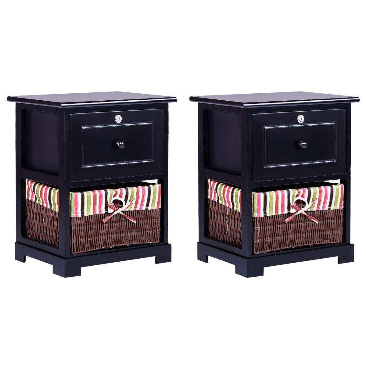 Kids Home Store Powell Kickflip Nightstand In Black Powell Furniture