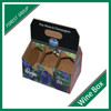 FACTORY PRICE CHEAP CARDBOARD WINE CARRIERS BOX FOR DISPLAY