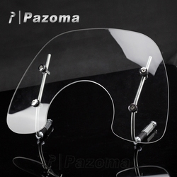 Pazoma Top Quality Smoke 4MM Thick Methacrylare Motorcycle Windscreen Fit For VESPA PRIMAVERA 150 FLYSCREEN