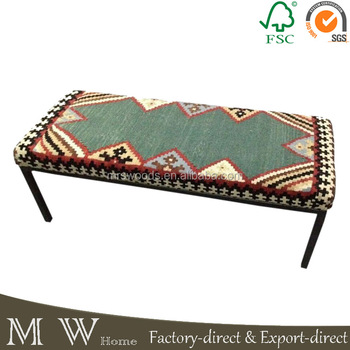 French Living Room Bench Turkish Ottoman Furniture