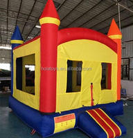 Simple colorful bouncy castle/inflatable bouncer/adult bounce house