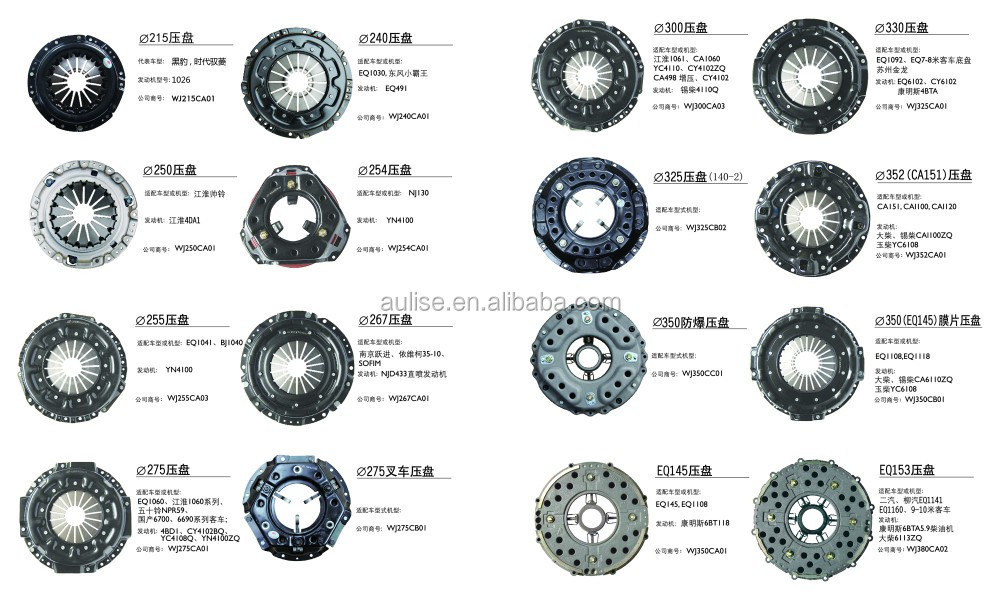 430MM clutch coverfor yuchai and dongfeng diesel engine parts