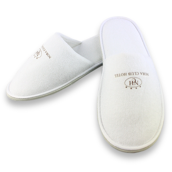 fbf8d0205d678e Pakai Satu Waktu Menggunakan Hotel Sandal Putih Dengan Logo - Buy Pakai Sandal  Hotel
