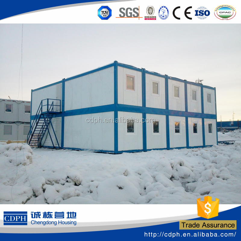 High cost performance portable house with choice on colors and material standard