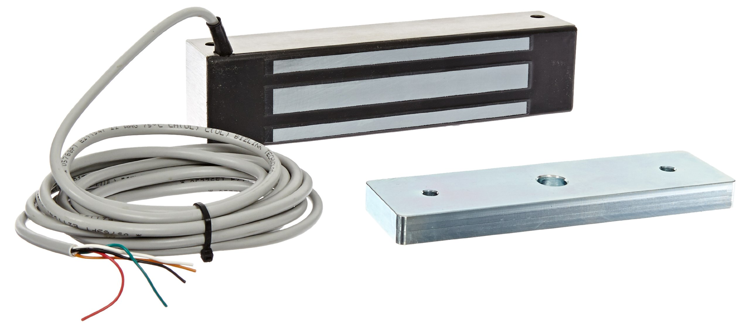 Clear Anodized Finish 12 Length Securitron Aluminum Shim Bracket for M82 Magnalock Electromagnetic Lock
