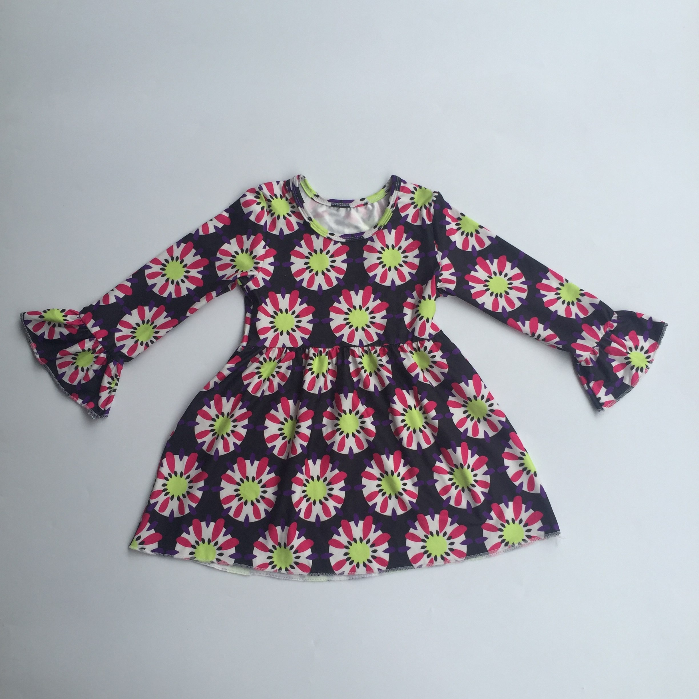 6dd7e0828a1ae Girls' Smocked Dress, Girls' Smocked Dress Suppliers and Manufacturers at  Alibaba.com