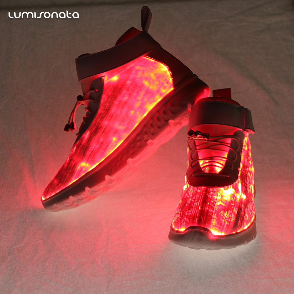 7colors adult light shoes emitting luminous shoes and high top xwUqaPRqz