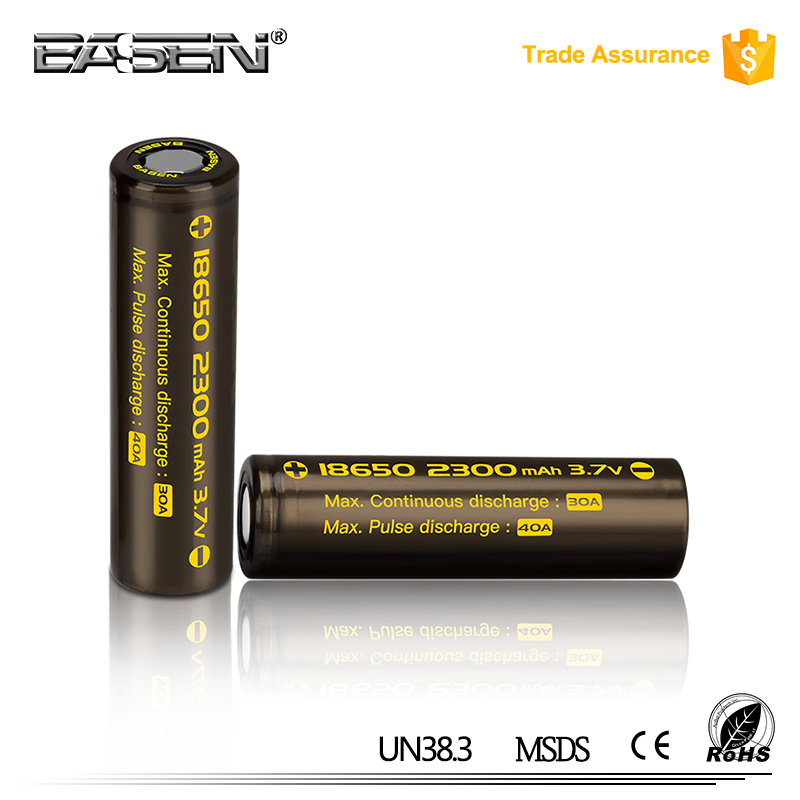 18650 3.7v mini rechargeable cgr18650c 2300mah li-ion battery for lithium battery mobility scooter