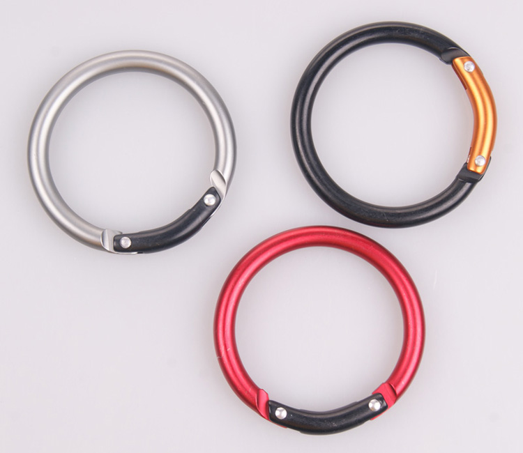 Round shape fashion carabiner ,can be made any shape as your requester