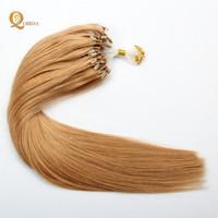 Double Drawn 30Inch Micro Links Loop Hair 0.5g/0.8g/1g Cheap Micro Ring Hair Extension
