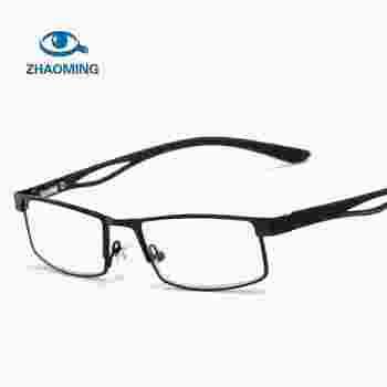 ce4b0bc565791 Pequeno Quadrado de Óculos de Prescrição de Óculos de Leitura Das Mulheres  Dos Homens de Negócios