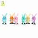 Classic clockwork toy rabbit plastic walking bunny wind up toys for children