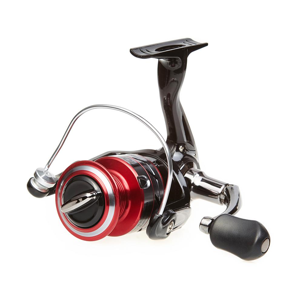 Noeby LEISURE K2  30KG 5.5:1 5+1BB Beautiful Spining Fishing Reel, Red/gold