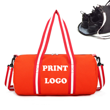 Red Color Canvas Women Gym <span class=keywords><strong>스포츠</strong></span> 춤 탈 부착이 가능하지 Bags