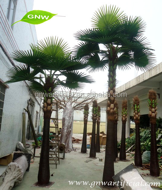 GNW AMP018 garden decoration large artificial outdoor palm tree