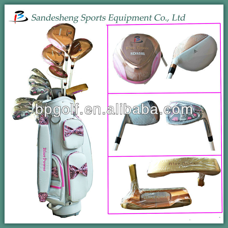 Ladies golf club set/golf equipment/golf completely sets