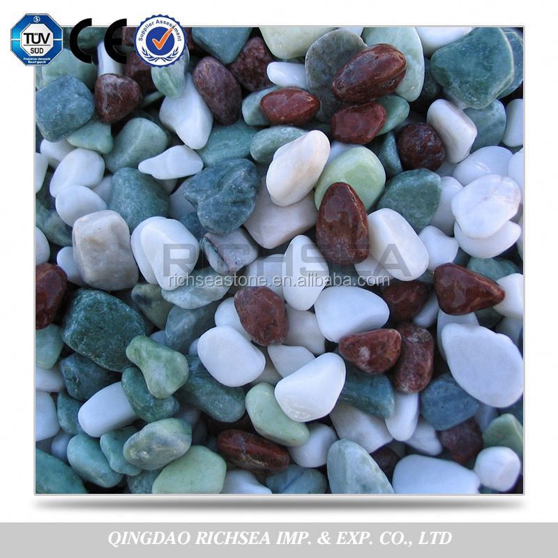 Hot Selling Popular Green Granite Stone Pebble
