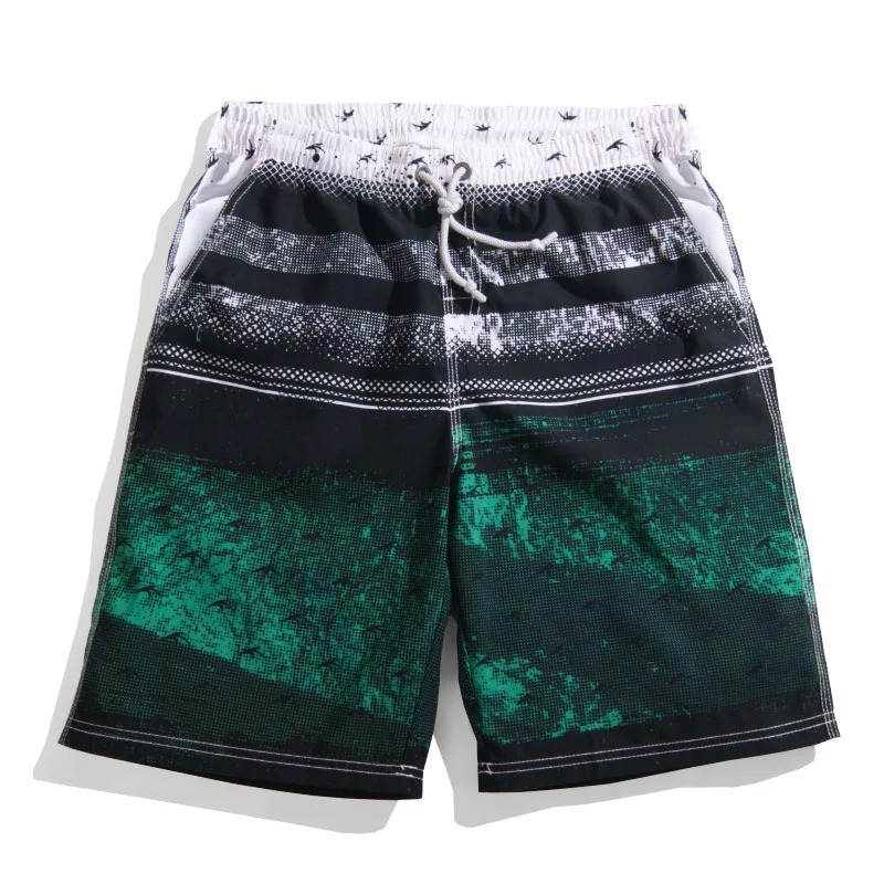 b693f09b17 Buy mens beach shorts swimming quick dry polyester 3xl green print surfing boardshorts  summer casual fashion hawaii boardshorts 2015 in Cheap Price on ...