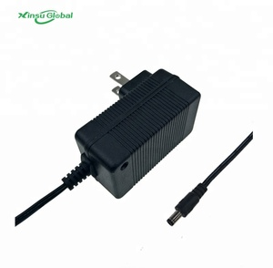 Low ripple and noise 2 series 8.4v li-ion battery charger for flashlight