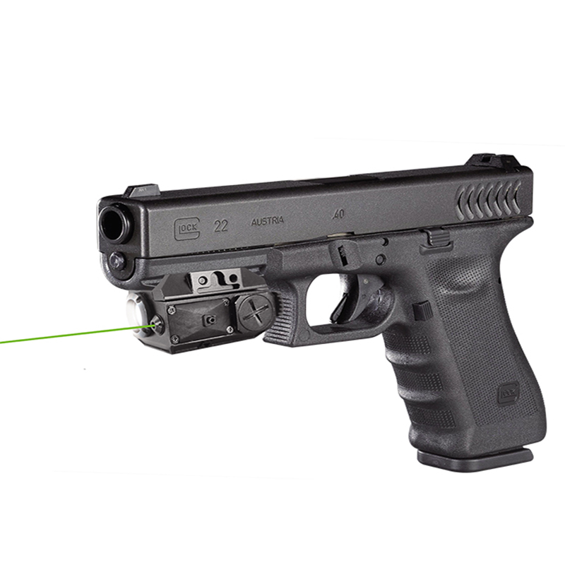 CL3-G self defence weapons green laser sight and flashlight for pistol фото