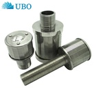 Stainless Steel Wedge Wire Wrapped V Wire Softening Nozzle Filter Screens