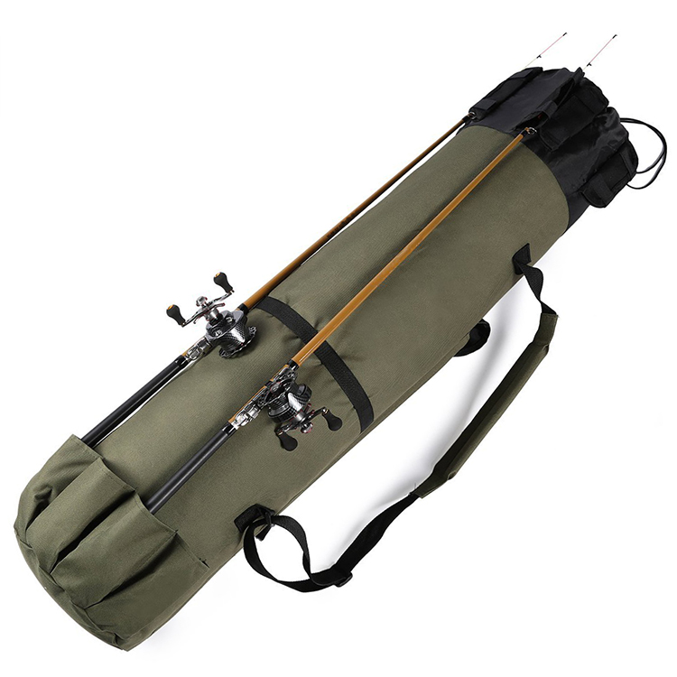 Fishing Rod Bag Fishing Pole Holder Carrier Travel Fishing Tackle Bag