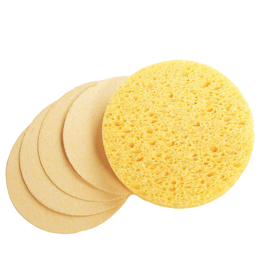 Hot Sell Latest Cellulose Sponge Cleaning Material Cellulose Sponge Set Facial Cleaning Cellulose Sponges