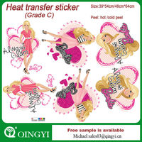 New product t-shirt transfer stickers