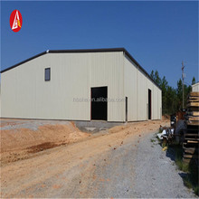 easy assembly light gable frame metal building prefabricated industrial steel structure building