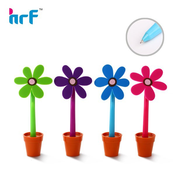2016 Noverty plastic flower shaped ball point pen