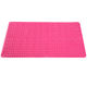 Factory direct supply pink style pvc non slip shower stall bath mat