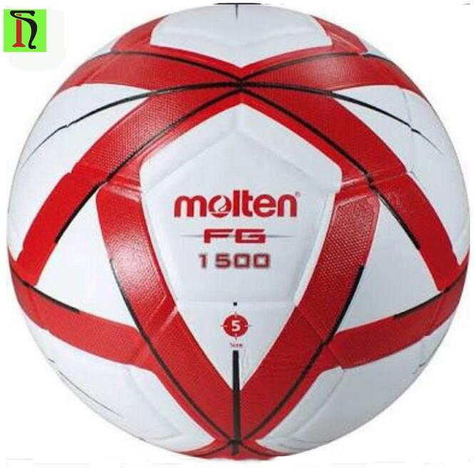 e3d094efa21d6 Pelota de futbol topu wholesale soft leather soccer ball training Molten  FG1500 football ball