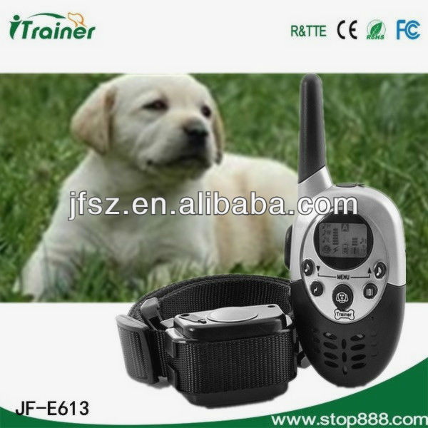 Best illusion lap remote whistle dog training collar e613