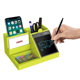 Countertop table set clear plastic Pen Holder office desk organizer
