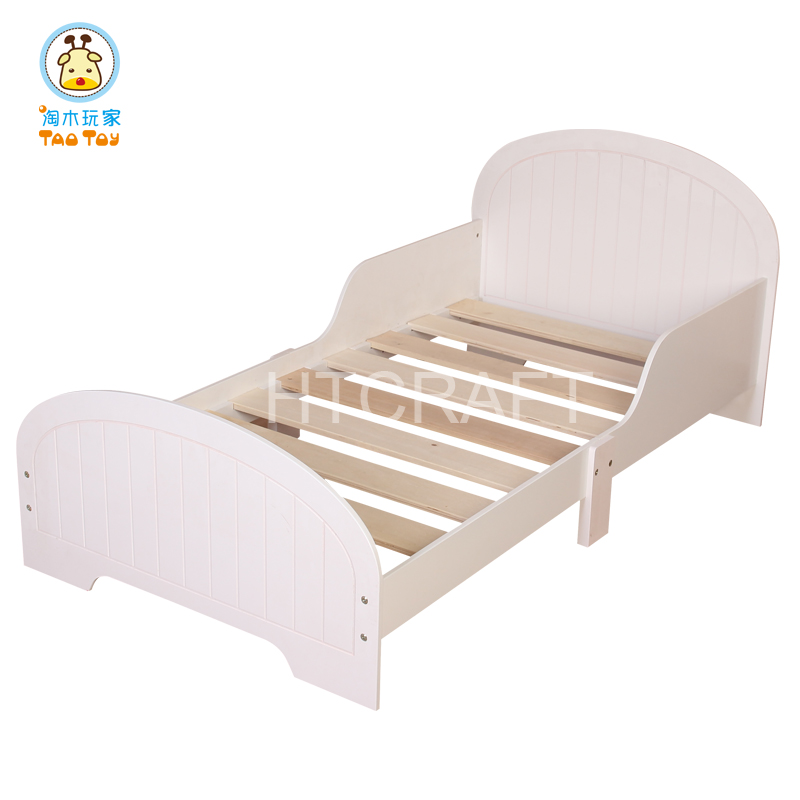 Wholesaler White Plastic Toddler Bed White Plastic