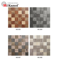 Wood series wall decorative bathroom mosaic for sale