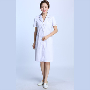 Professional white chemistry lab coat