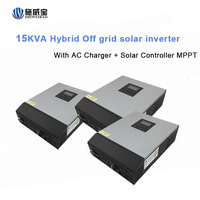 DC48V 6KW 8KW 10KW 12KW Big High Frequency Solar Inverter For Off Grid Solar Home System Power Supply